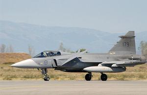 Saab Gripen (c) Msgt. Billy Johnston, USAF