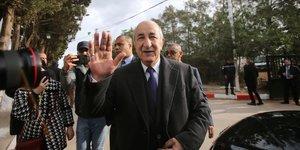Algerie: abdelmadjid tebboune elu au premier tour de la presidentielle