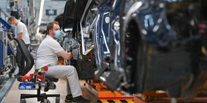 Allemagne: chute record de la production industrielle en avril