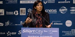 Anne Hidalgo, Smart City, Grand Paris,