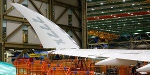 Boeing effectuera cette semaine le premier vol d'essai du 777x, selon deux sources