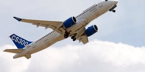 Bombardier CS300, C-Series, aviation civile, Airbus, Boeing, constructeur d'avions de ligne, livraisons, concurrence, secteur aérien, court-courrier, moyen-courrier, long-courrier,
