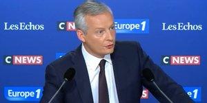 Bruno Le Maire Europe 1 mai 2018
