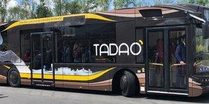 bus Transdev, Tadao, hydrogène,