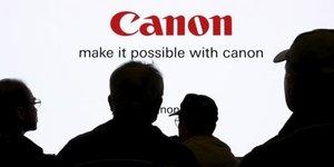 Canon revoit a la baisse ses previsions de resultats