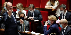 Castex, AssemblEe nationale,