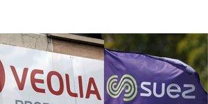 Collage photos Veolia   Suez