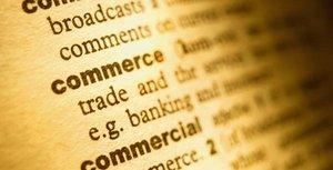 Commerce mot dictionnaire