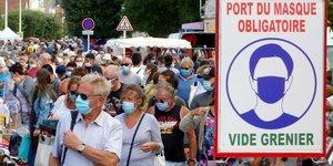 Coronavirus: pres de 4.900 nouveaux cas deceles en 24h