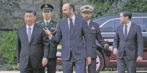 Edouard Philippe, Xi Jinping