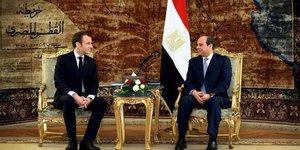 Egypte France Macron Sissi Ficantieri TKMS