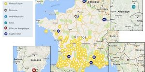Eiffel Energy Transition projets financés