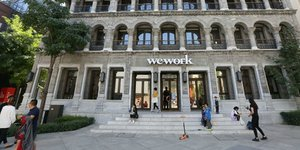 Espace co-working WeWork en Chine