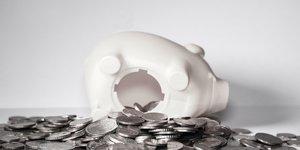 Euro, Epargne, argent, piEces, billets, tirelire, livret A, assurance vie, banque