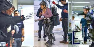 Exosquelette, paraplégiques