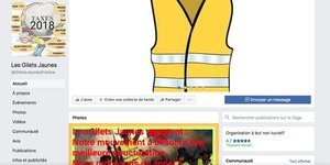 Facebook gilets jaunes