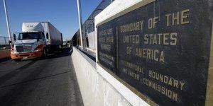 Frontière américaine entre les Etats-Unis et le Mexique