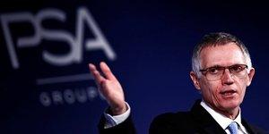 Fusion: psa ne vise aucune entreprise specifique, fca compris, dit tavares