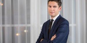 Gabriel Attal, porte-parole du gouvernement, Macron, Castex