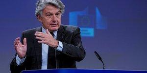 Gafa: les usa sont dans une posture de negociation, dit breton