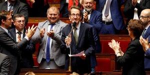 Gilles Le Gendre, LREM, Rabatel, FDJ,
