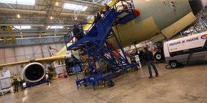 Grâce à la construction aéronautique, Midi-Pyrénées reste une des rares régions où l'emploi industriel progresse, avec 500 salariés supplémentaires en 2013.