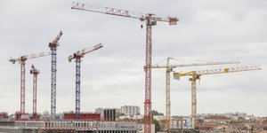 Grues Bordeaux Euratlantique