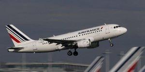 Hausse en janvier du trafic passagers d'air france-klm
