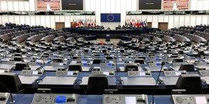Hémicyle du Parlement européen à Strasbourg