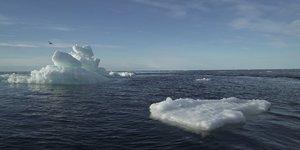 La banquise arctique a atteint sa deuxieme superficie la plus faible
