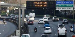 La circulation differenciee mise en place jeudi a paris