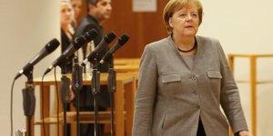 Merkel admet son echec a former une coalition gouvernementale