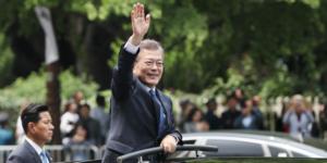 Moon Jae-In, élu président de la Corée du Sud