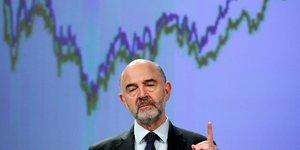 Moscovici, commissaire européen, Affaires économiques,
