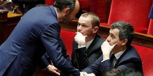 Olivier Dussopt, Gérald Darmanin, Edouard Philippe, gouvernement, fonction publique,
