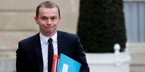 Olivier Dussopt, secrétaire d'Etat à la fonction publique,