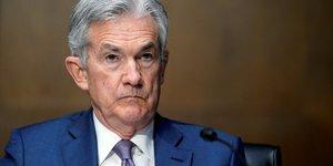 Powell  fed : pas le moment de debattre d& 39 un changement du programme de rachat de titres