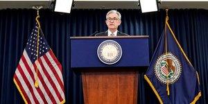 Powell reaffirme que le risque inflationniste reste faiblee