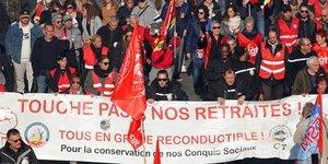 Retraites, Marseille, manifestations,