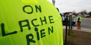 """Reunion des syndicats pour discuter des """"gilets jaunes"""""""