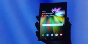 Samsung écran pliable smartphone