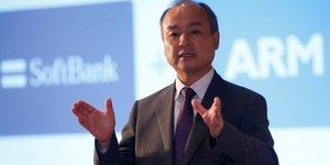 Softbank rachete arm