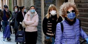 Un peu moins de deces et de patients en reanimation en italie