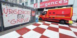 Urgences en grève