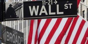Wall street recule en debut de seance