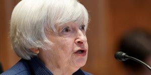 Yellen va presser le g20 pour une taxe plancher superieure a 15